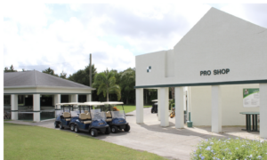 Chi Chi Rodriguez Golf Course photo of pro shop and carts